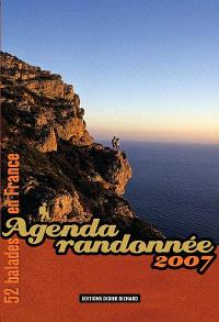 Agenda randonnée 2007 : 52 balades en France