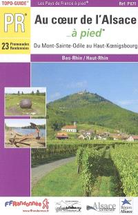 Au coeur de l'Alsace... à pied : du Mont-Sainte-Odile au Haut-Koenigsberg