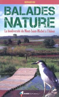 Balades nature : la biodiversité du Mont-Saint-Michel à l'Adour