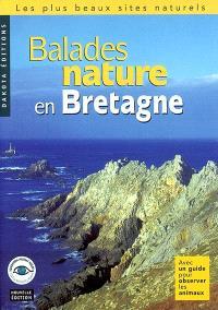 Balades nature en Bretagne : avec un guide pour observer les animaux