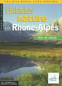 Balades nature en Rhône-Alpes : pays de Savoie