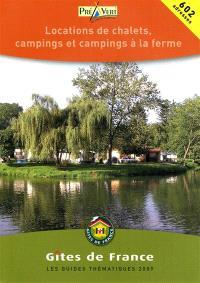 Campings à la ferme et location de chalets