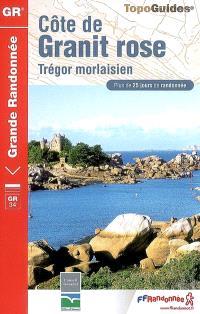 Côte de Granit rose : Trégor morlaisien : GR34, GR34A, GR34B, GR34D