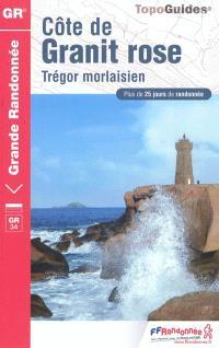 Côte de Granit rose : Trégor morlaisien : plus de 25 jours de randonnée