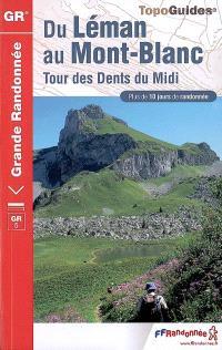 Du Léman au Mont-Blanc : tour des Dents du Midi : plus de 10 jours de randonnée