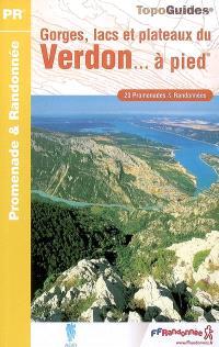 Gorges, lacs et plateaux du Verdon... à pied : 20 promenades & randonnées