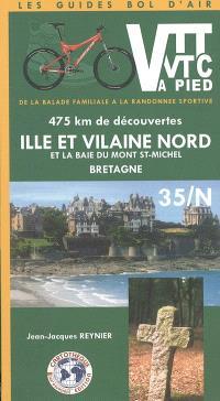 Ille-et-Vilaine Nord et la baie du Mont-Saint-Michel, Bretagne, 35N : 475 km de découvertes