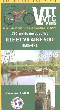 Ille-et-Vilaine-Sud, Bretagne, 35S : 520 km de découvertes