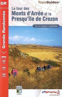 Le tour des monts d'Arrée et la presqu'île de Crozon : plus de 15 jours de randonnée