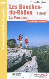 Les Bouches-du-Rhône... à pied : la Provence : 42 promenades & randonnées
