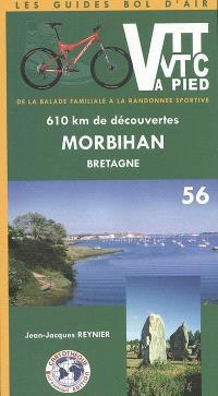 Morbihan, Bretagne, 56 : 610 km de découvertes