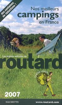 Nos meilleurs campings en France 2007