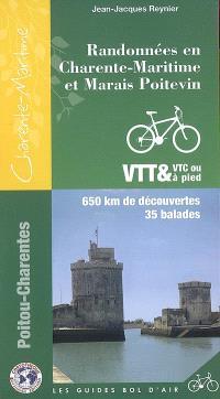 Randonnées en Charente-Maritime et Marais poitevin : 650 km de découvertes, 35 balades
