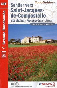 Sentier vers Saint-Jacques-de-Compostelle, Via Arles : Montgenèvre-Arles, GR 653D : plus de 20 jours de randonnée
