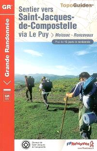 Sentier vers Saint-Jacques-de-Compostelle, Via Le Puy : Moissac-Roncevaux : plus de 15 jours de randonnée