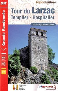 Tour du Larzac : Templier et Hospitalier : plus de 20 jours de randonnée