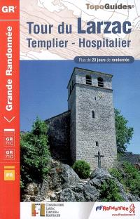 Tour du Larzac : Templier-Hospitalier : plus de 20 jours de randonnée