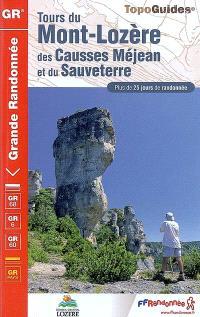 Tours du mont Lozère, des causses Méjean et du Sauveterre, parc national des Cévennes : plus de 25 jours de randonnée