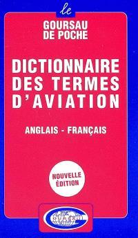 Dictionnaire des termes d'aviation : anglais-français