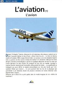 L'aviation. Volume 1, L'avion