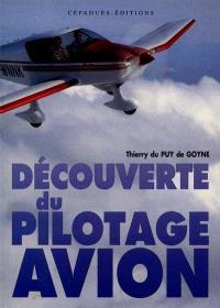 Découverte du pilotage avion