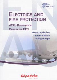 Electrics and fire protection : ATPL preparation : certificate 021