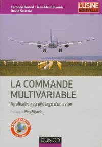 La commande multivariable : application au pilotage d'un avion