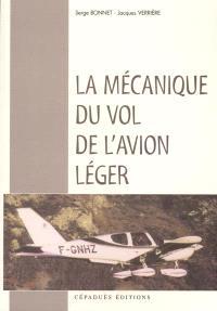 La mécanique du vol de l'avion léger