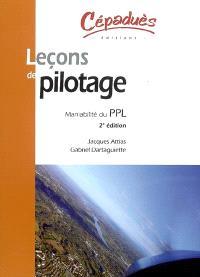 Leçons de pilotage : maniabilité du PPL