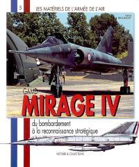 Mirage IV : du bombardement à la reconnaissance stratégique
