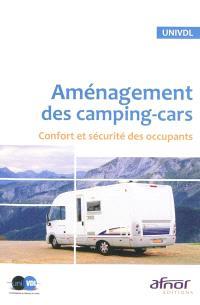 Aménagement des camping-cars : confort et sécurité des occupants