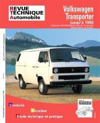Revue technique automobile. n° 732.1, Volkswagen Transporter essence et diesel 79-90