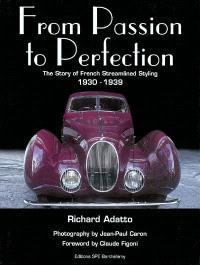 From passion to perfection : the story of French streamlined styling : 1930-1939