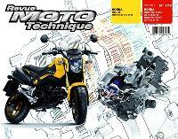 Revue moto technique. n° 179, Honda MSX125 (2013-15) + Moteurs NC700-750DCT (2012-15)
