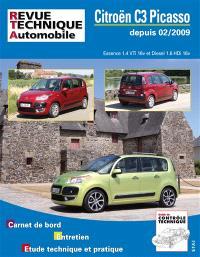 Revue technique automobile. n° B745, C3 Picasso 02-2009 1.4 VTI et 1.6 HDI