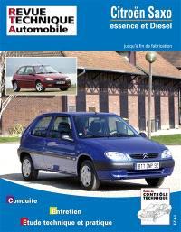 Revue technique automobile. n° 106, Citroën Saxo essence et diesel