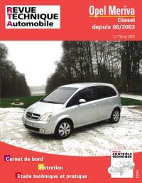 Revue technique automobile. n° 681.1, Opel Meriva diesel