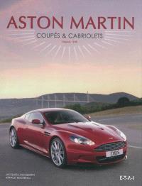 Aston Martin : coupés et cabriolets, depuis 1948