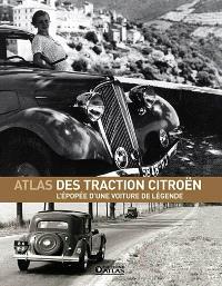 Atlas des traction Citröen : l'épopée d'une voiture de légende
