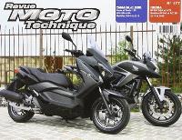 Revue moto technique. n° 177, Honda NC750SX (14-15) + Yamaha XMAX 125 (14-15)
