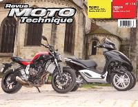 Revue moto technique. n° 175, Piaggio Yourban MP3 (12-14) + Yamaha MT07 (14-15)