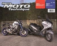Revue moto technique. n° 176, Suzuki Burgman 125 (14-15) + Yamaha MT09 (14-15)