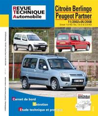 Revue technique automobile. n° 111, Berlingo combi-partner essence et diesel