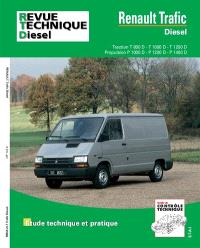 Revue technique automobile. n° 122.6, Renault Trafic diesel, 81-98