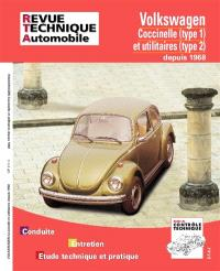 Revue technique automobile. n° 317.4, VW Coccinelle et utilitaires 68-77