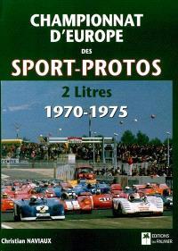 Championnat d'Europe des sport-protos 2 litres 1970-1975