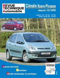 Citroën Xsara Picasso depuis 12-1999 : essence 1.6i - 1.6i 16v - 1.8i 16v, Diesel 1.6 HDi 16v - 2.0 HDi