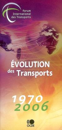 Evolution des transports : 1970-2006