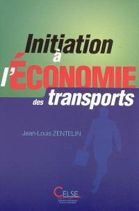 Initiation à l'économie des transports