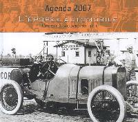 L'épopée automobile : d'hier à aujourd'hui : agenda 2007